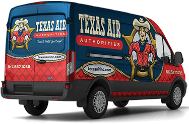 Texas Air Authorities Van